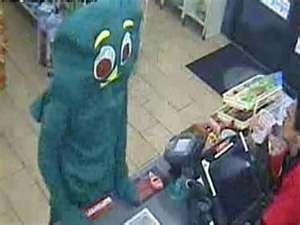 Alleged Gumby Robber